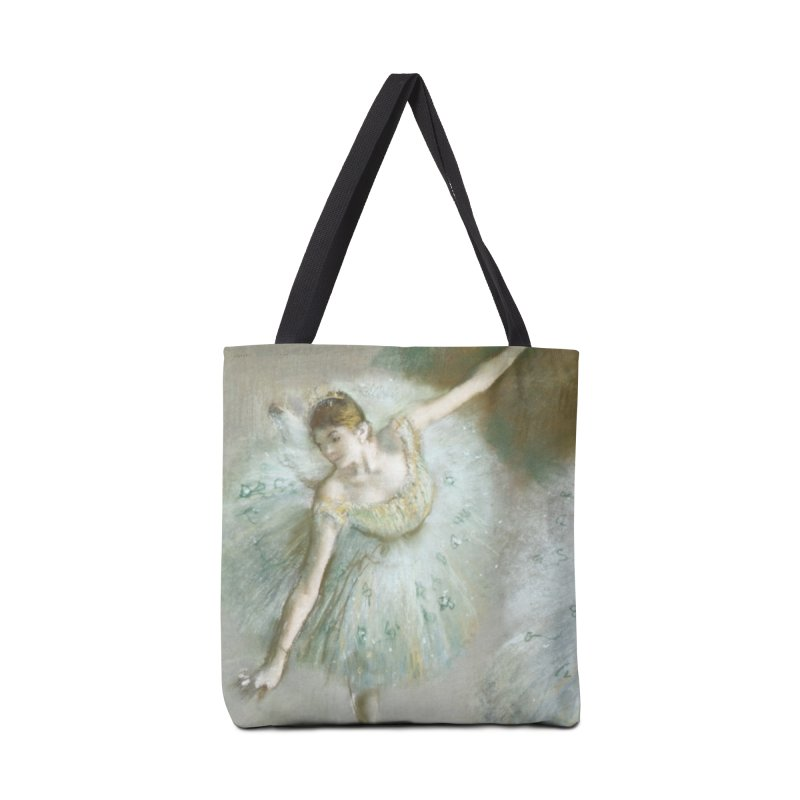 Dancer in Green by Degas Accessories Tote Bag Bag by The Little Opera Company Swag Shop