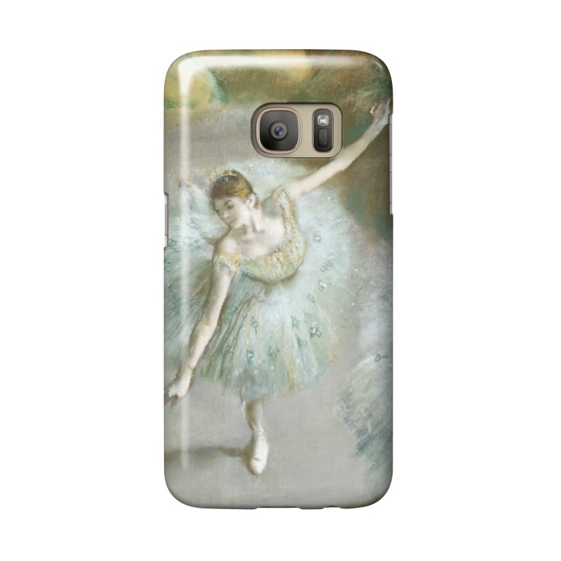 Dancer in Green by Degas in Galaxy S7 Phone Case Slim by The Little Opera Company Swag Shop