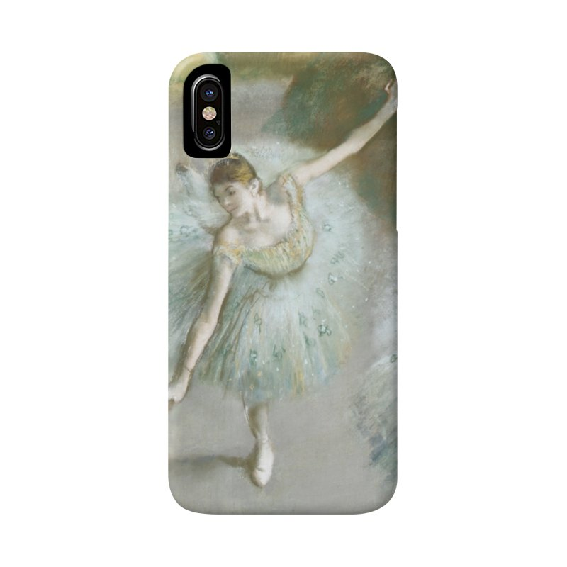 Dancer in Green by Degas Accessories Phone Case by The Little Opera Company Swag Shop