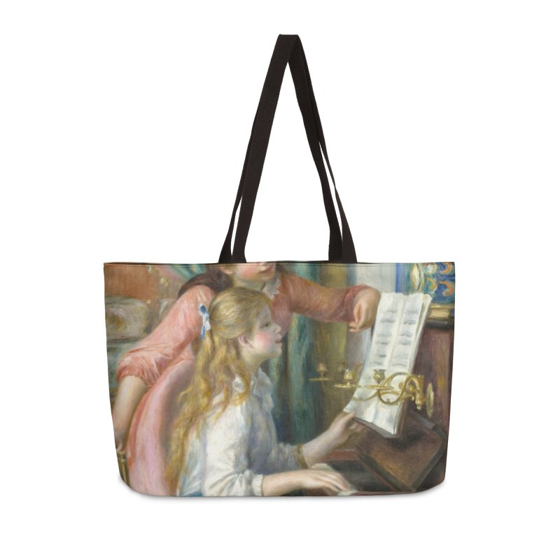 Girls at the Piano by Renoir Accessories Weekender Bag Bag by The Little Opera Company Swag Shop