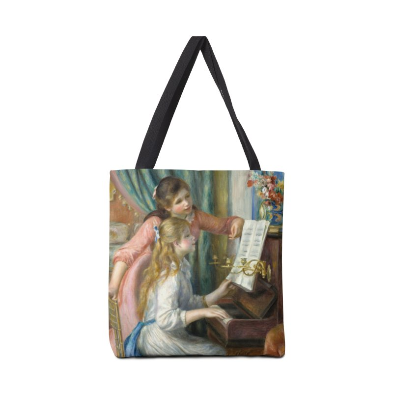 Girls at the Piano by Renoir Accessories Tote Bag Bag by The Little Opera Company Swag Shop