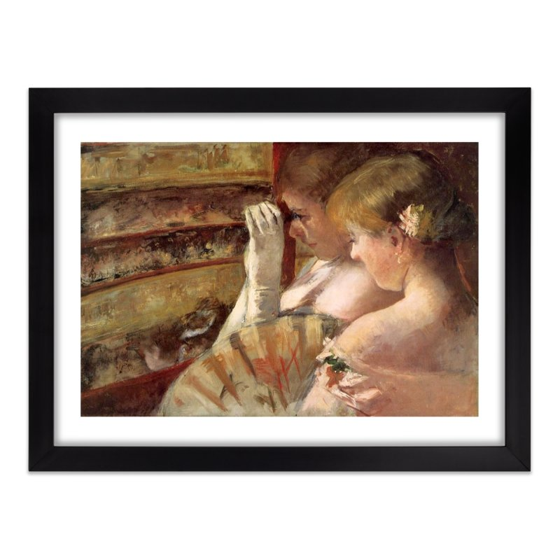 In the Box by Cassatt Home Framed Fine Art Print by The Little Opera Company Swag Shop