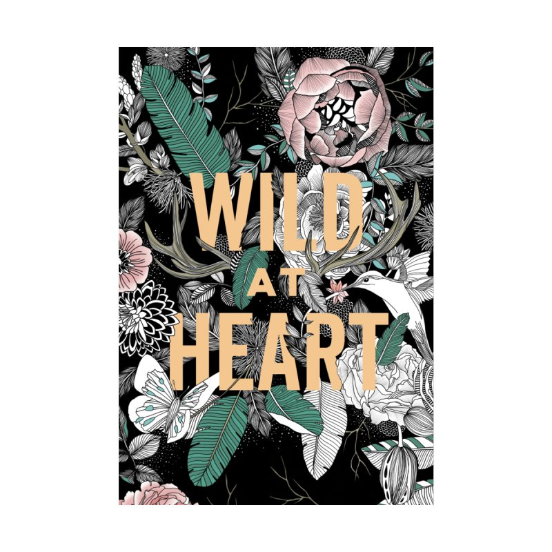 Wild at Heart - Color Women's Sweatshirt by littlepatterns by Maggie Enterrios