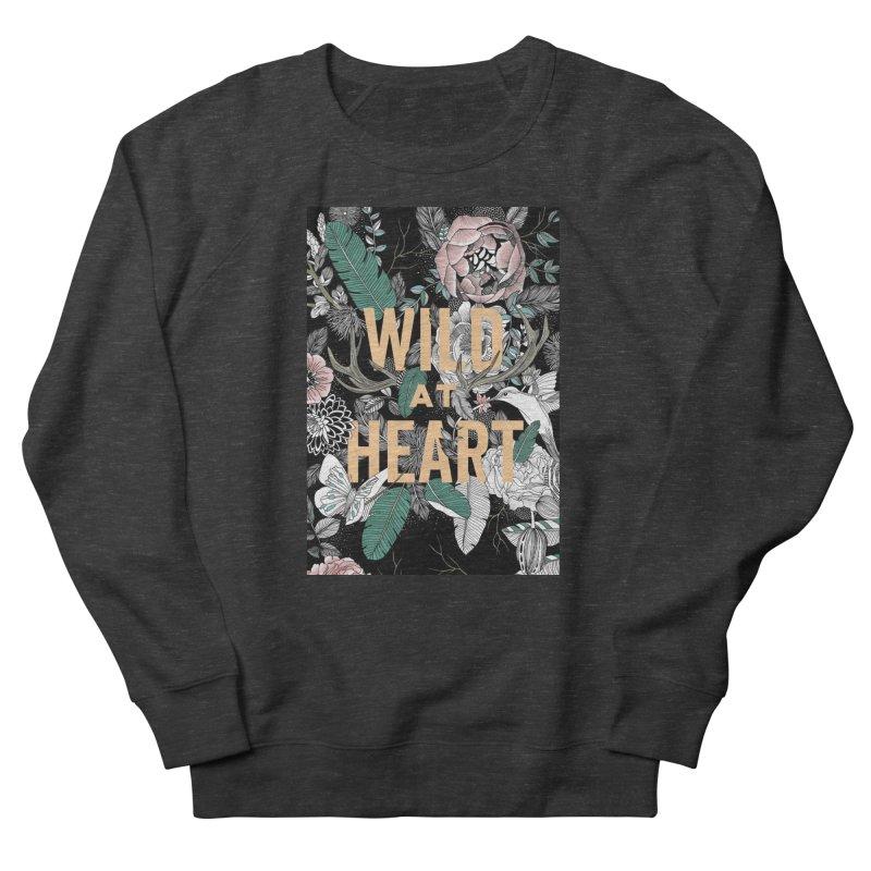 Wild at Heart - Color Women's Sweatshirt by littlepatterns by Maggie Enterrios