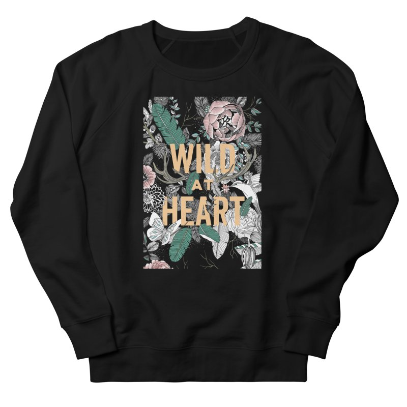 Wild at Heart - Color Men's Sweatshirt by littlepatterns by Maggie Enterrios