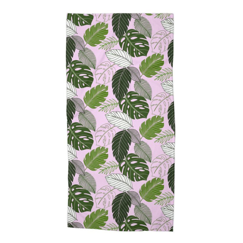 Tropics Accessories Beach Towel by littlepatterns by Maggie Enterrios