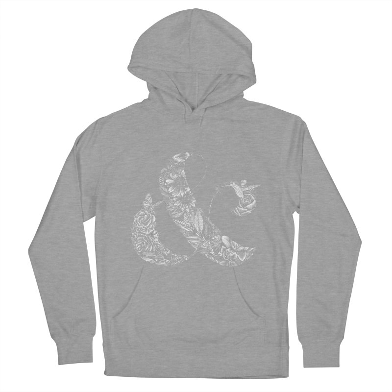 Ampersand Women's Pullover Hoody by littlepatterns by Maggie Enterrios