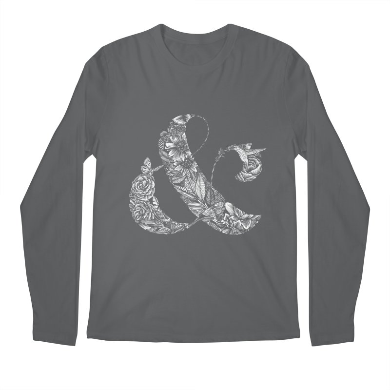 Ampersand Men's Longsleeve T-Shirt by littlepatterns by Maggie Enterrios