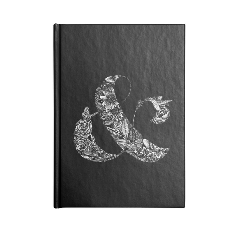 Ampersand Accessories Blank Journal Notebook by littlepatterns by Maggie Enterrios