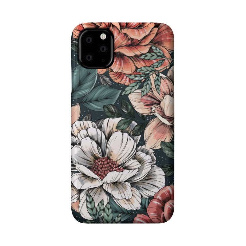 Brilliant Blooms Accessories Phone Case by littlepatterns by Maggie Enterrios
