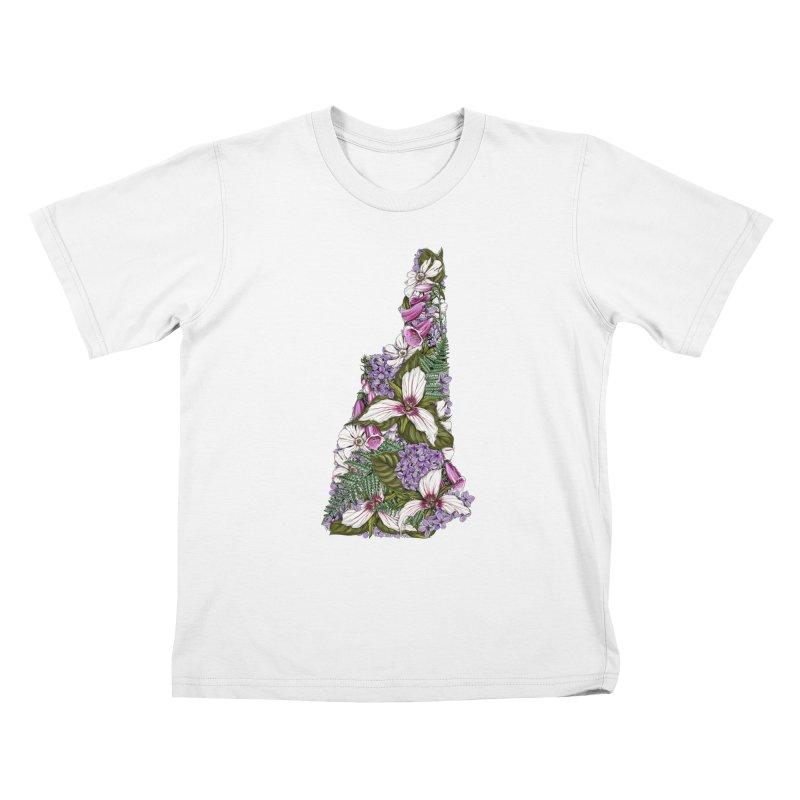 Trillium Kids T-Shirt by littlepatterns by Maggie Enterrios