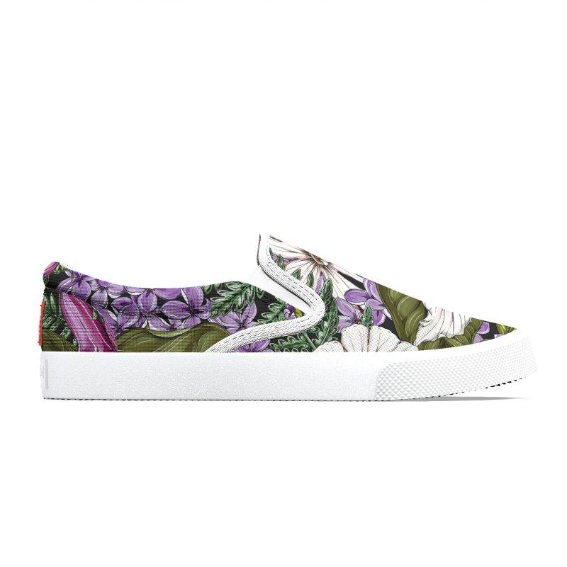 Trillium Men's Shoes by littlepatterns by Maggie Enterrios
