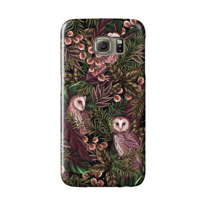 Owl Botanica Accessories Phone Case by littlepatterns by Maggie Enterrios