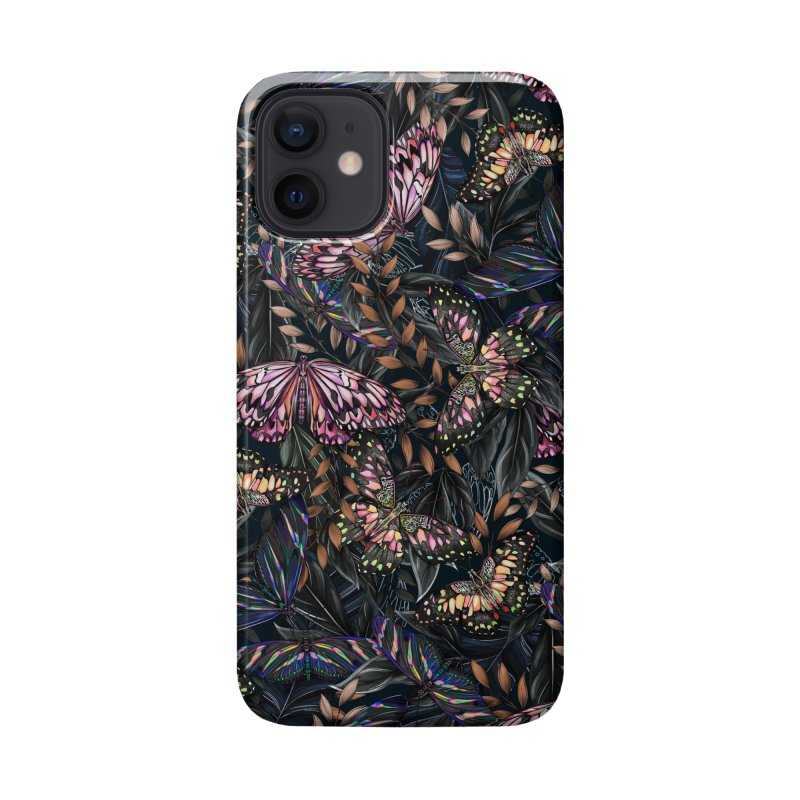 Butterfly by Night Accessories Phone Case by littlepatterns by Maggie Enterrios