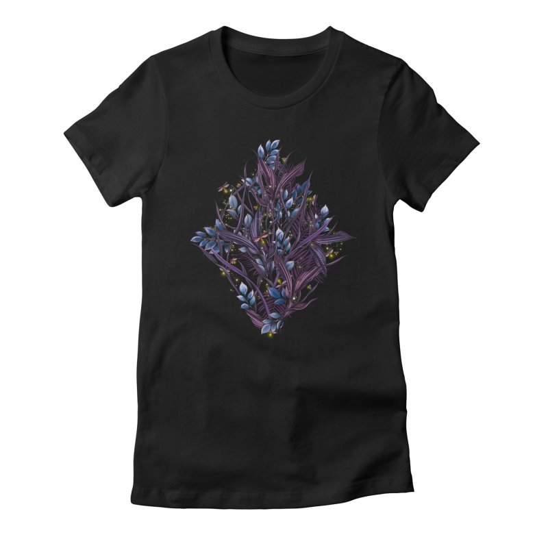 Firefly | Lightning Bugs Women's T-Shirt by littlepatterns by Maggie Enterrios
