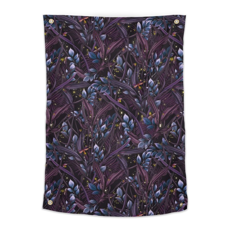 Firefly | Lightning Bugs Home Tapestry by littlepatterns by Maggie Enterrios