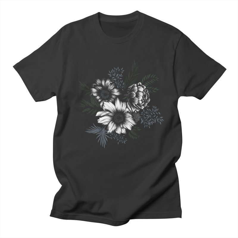 Classic Floral Women's T-Shirt by littlepatterns by Maggie Enterrios