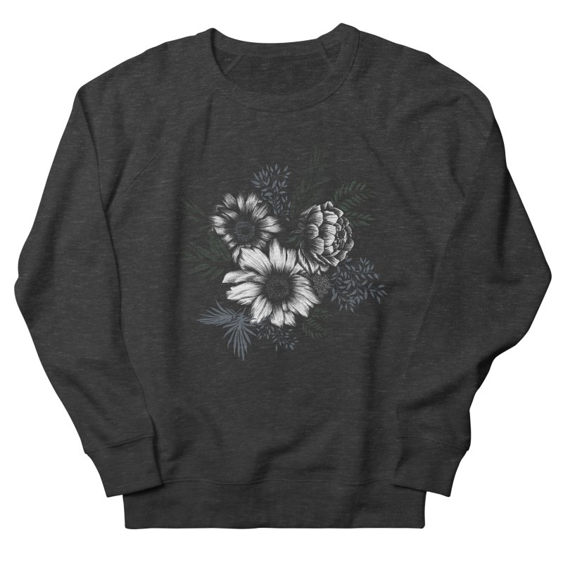 Classic Floral Women's Sweatshirt by littlepatterns by Maggie Enterrios