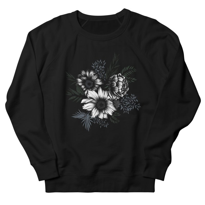 Classic Floral Women's Sweatshirt by littlepatterns by Maggie Enterrios