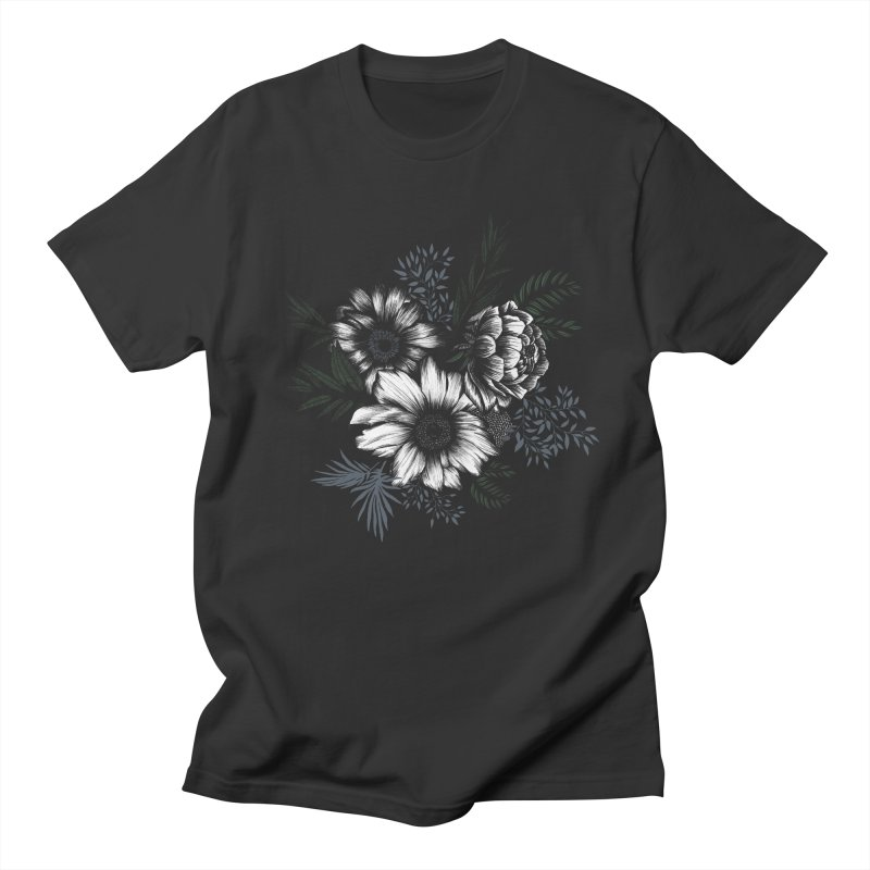 Classic Floral Women's Regular Unisex T-Shirt by littlepatterns by Maggie Enterrios