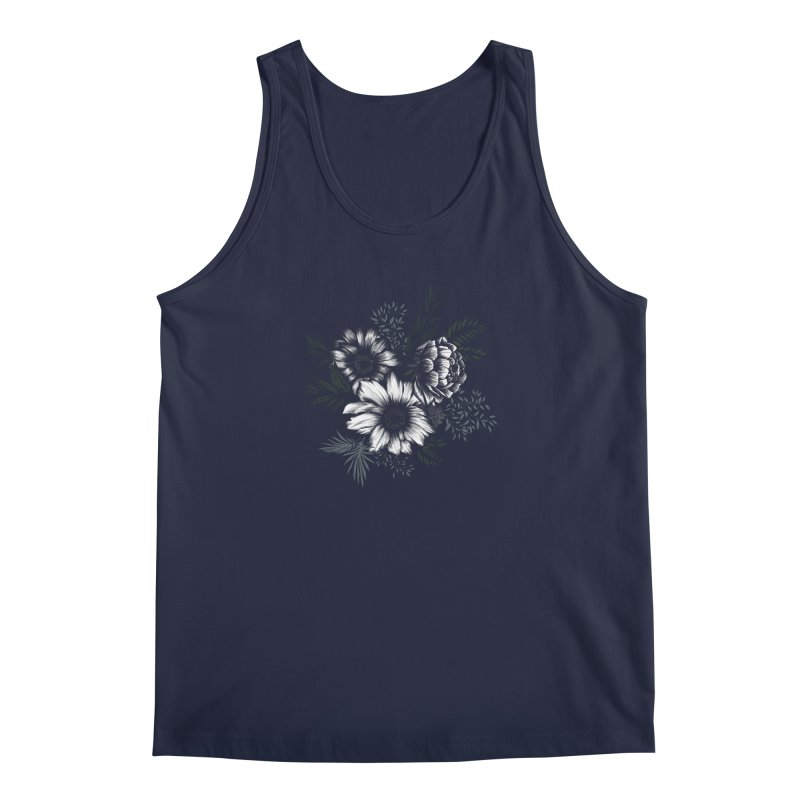 Classic Floral Men's Tank by littlepatterns by Maggie Enterrios