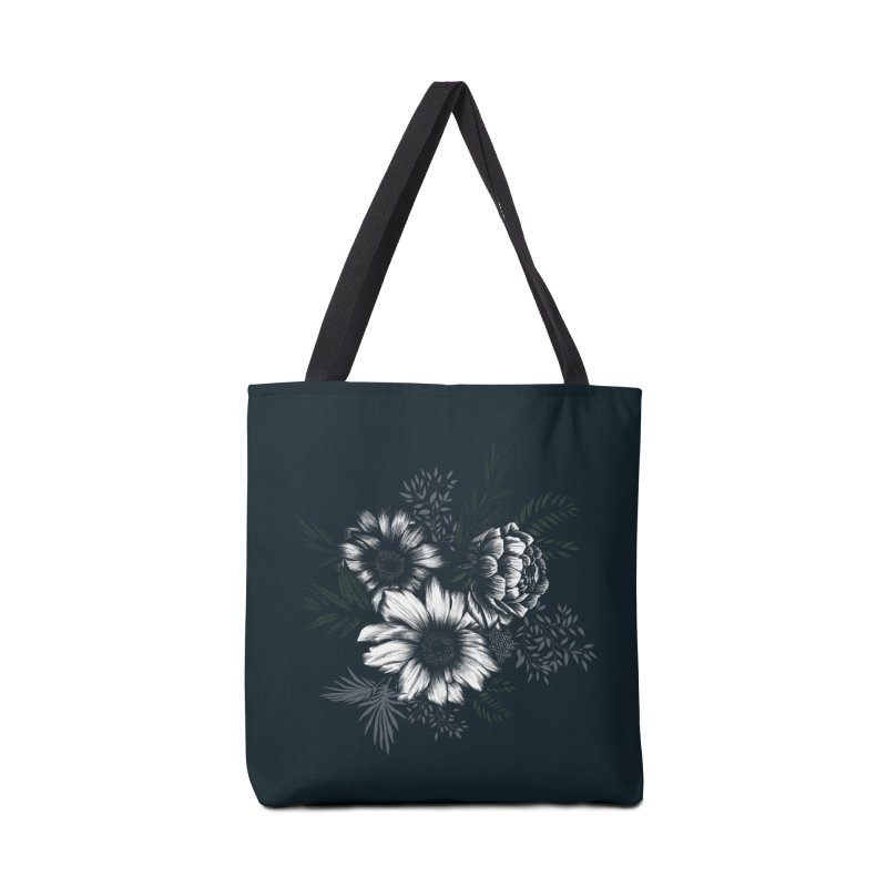 Classic Floral Accessories Bag by littlepatterns by Maggie Enterrios