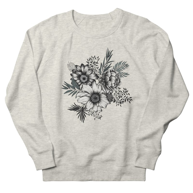 Classic Floral (light) Men's Sweatshirt by littlepatterns by Maggie Enterrios
