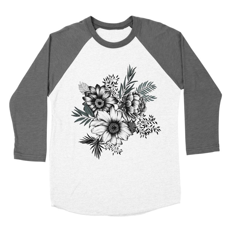 Classic Floral (light) Women's Longsleeve T-Shirt by littlepatterns by Maggie Enterrios