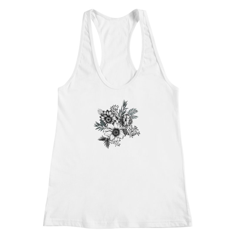Classic Floral (light) Women's Tank by littlepatterns by Maggie Enterrios