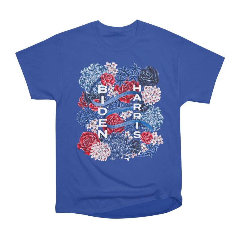 Rise Up. Show Up. Unite! Men's T-Shirt by littlepatterns by Maggie Enterrios