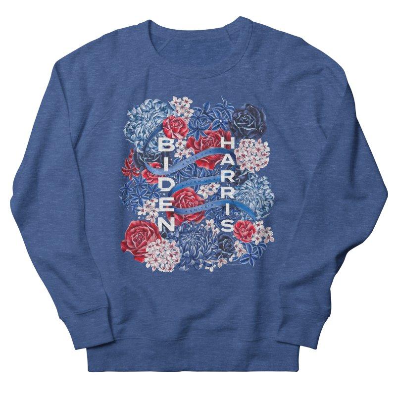 Rise Up. Show Up. Unite! Biden-Harris Men's Sweatshirt by littlepatterns by Maggie Enterrios
