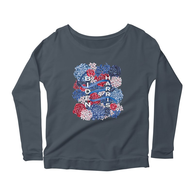 Rise Up. Show Up. Unite! Women's Longsleeve T-Shirt by littlepatterns by Maggie Enterrios