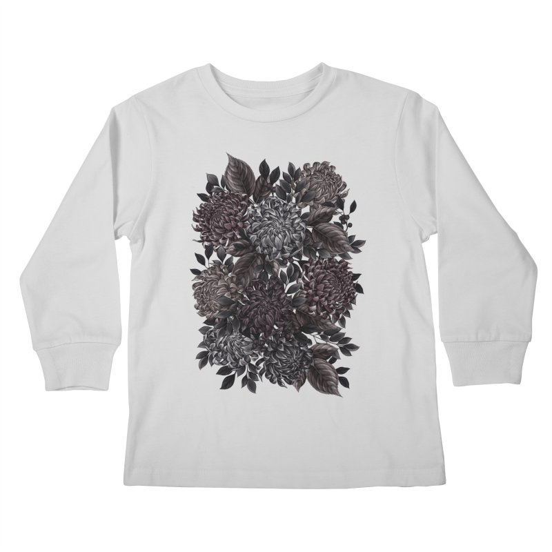Spidermum Kids Longsleeve T-Shirt by littlepatterns by Maggie Enterrios