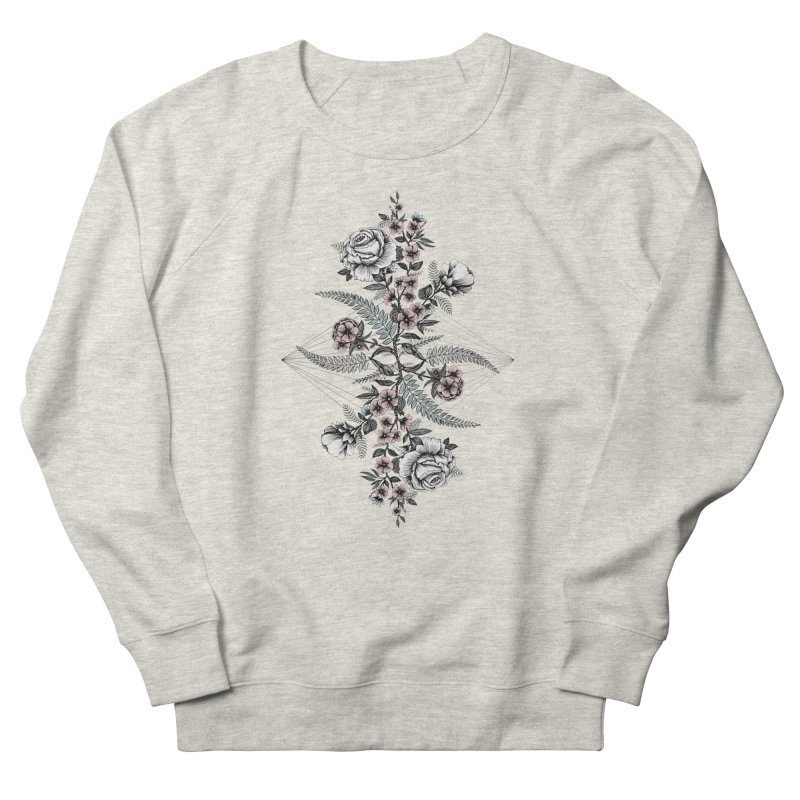 Reflection (light) Women's Sweatshirt by littlepatterns by Maggie Enterrios