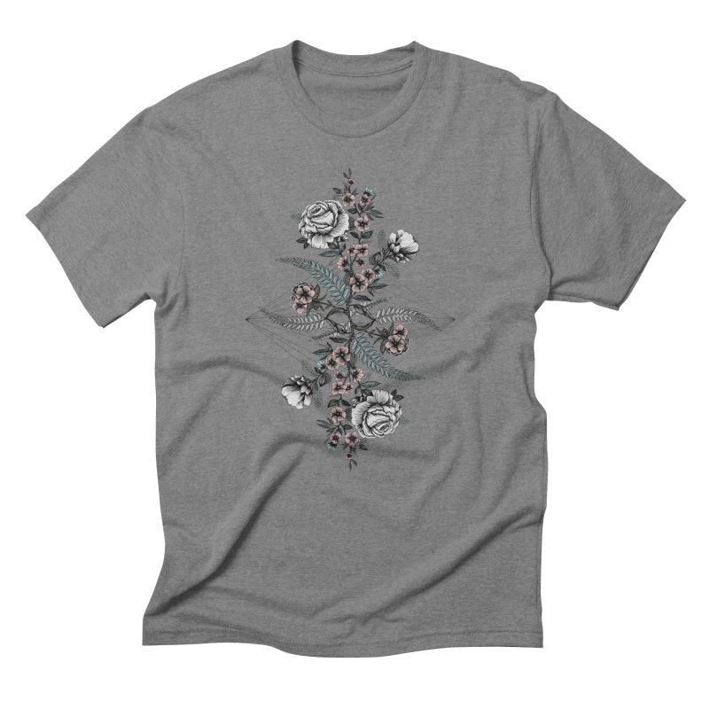Reflection (light) Men's T-Shirt by littlepatterns by Maggie Enterrios