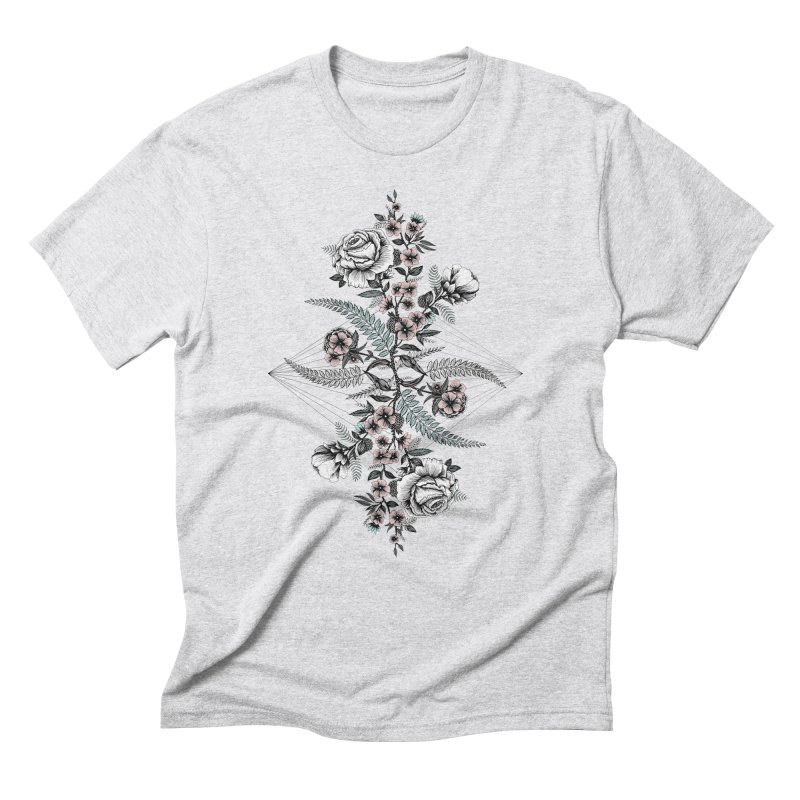 Reflection (light) Men's Triblend T-Shirt by littlepatterns by Maggie Enterrios