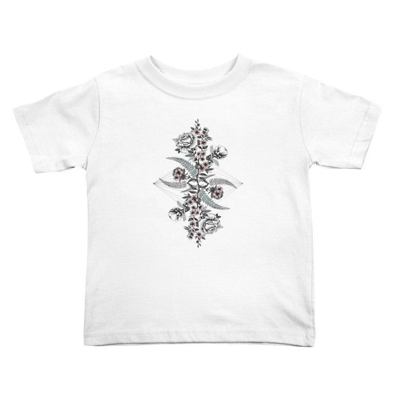 Reflection (light) Kids Toddler T-Shirt by littlepatterns by Maggie Enterrios
