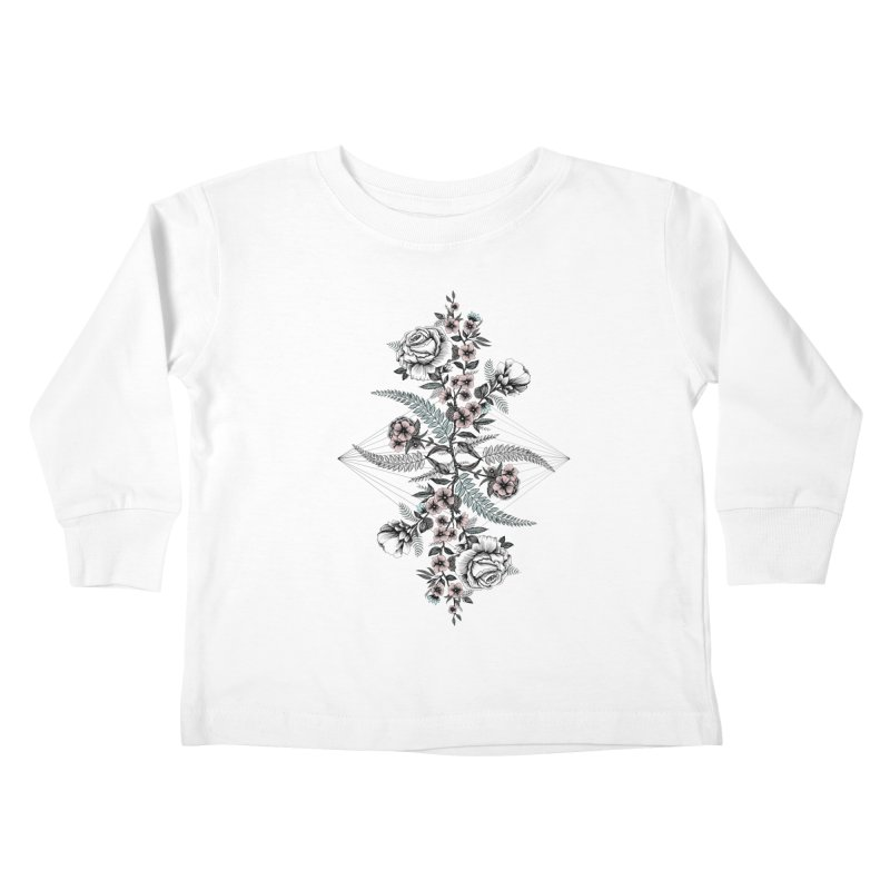 Reflection (light) Kids Toddler Longsleeve T-Shirt by littlepatterns by Maggie Enterrios