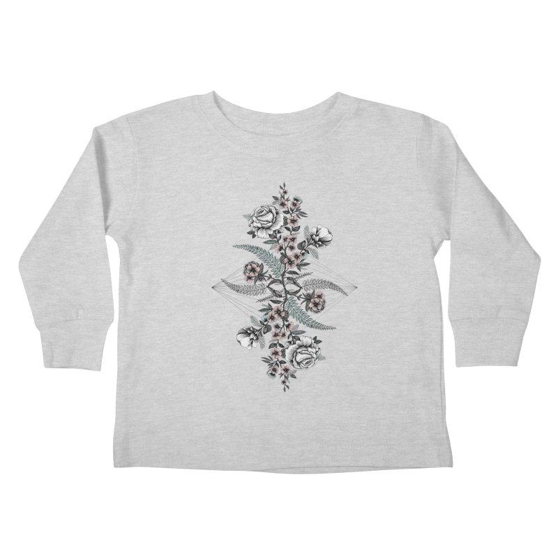 Reflection (light) Kids Toddler Longsleeve T-Shirt by littlepatterns by Maggie Enterrios