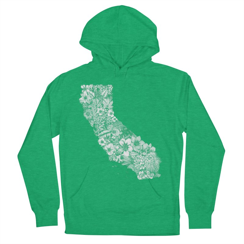 California Native Men's Pullover Hoody by littlepatterns by Maggie Enterrios