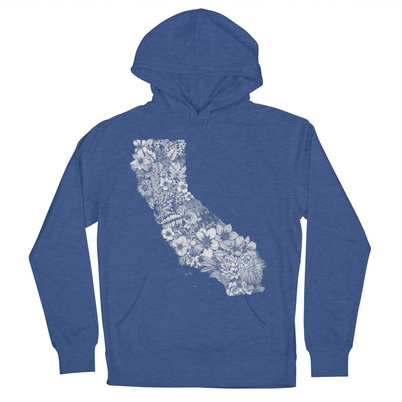 California Native Men's French Terry Pullover Hoody by littlepatterns by Maggie Enterrios