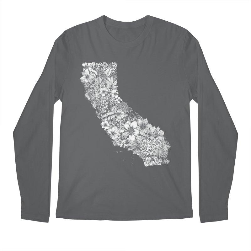California Native Men's Longsleeve T-Shirt by littlepatterns by Maggie Enterrios