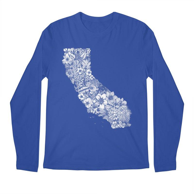 California Native Men's Regular Longsleeve T-Shirt by littlepatterns by Maggie Enterrios