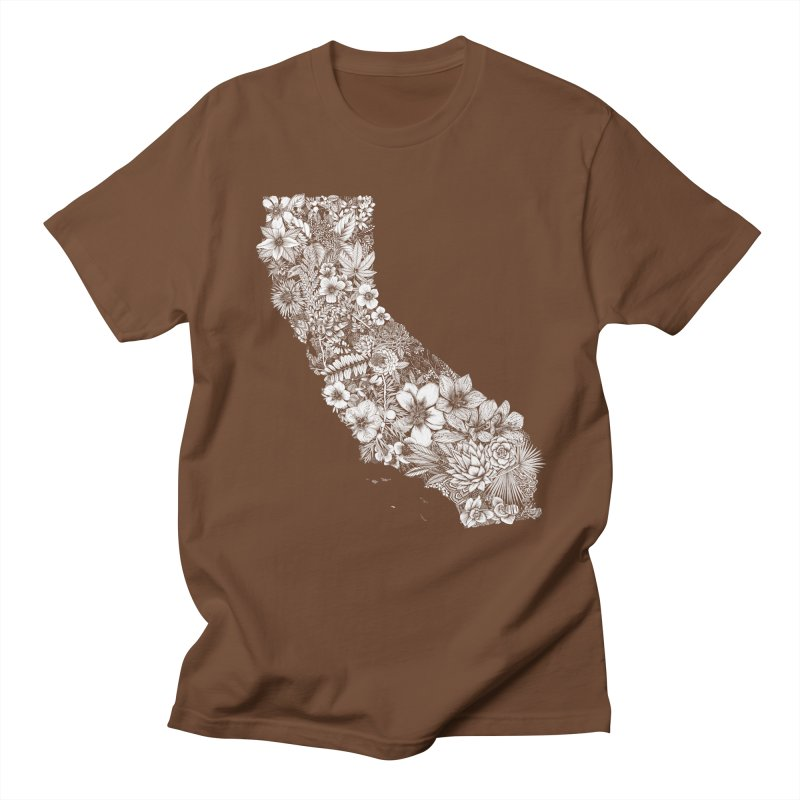 California Native Men's Regular T-Shirt by littlepatterns by Maggie Enterrios