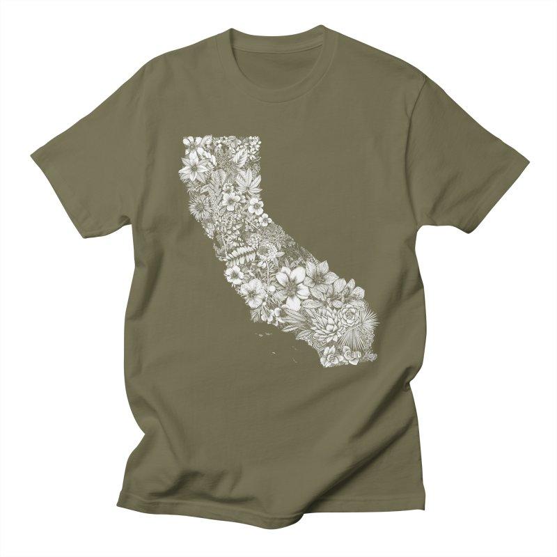 California Native Women's Regular Unisex T-Shirt by littlepatterns by Maggie Enterrios