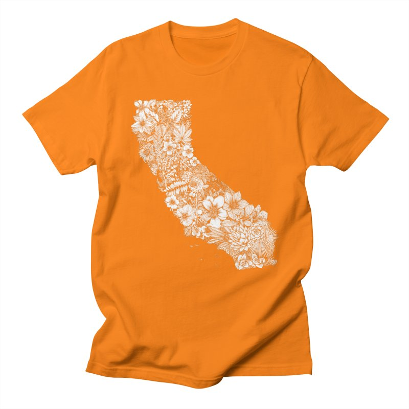 California Native Women's Regular Unisex T-Shirt by littlepatterns by Maggie Enterrios
