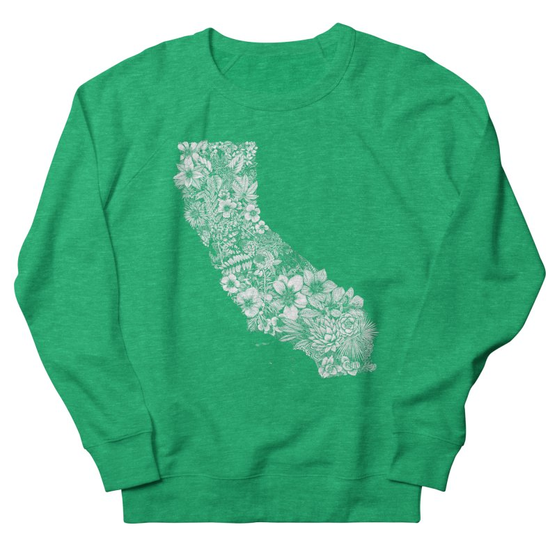 California Native Women's Sweatshirt by littlepatterns by Maggie Enterrios
