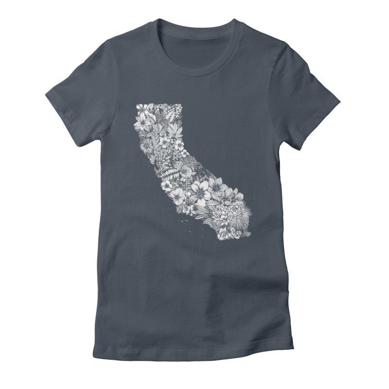 California Native Women's T-Shirt by littlepatterns by Maggie Enterrios