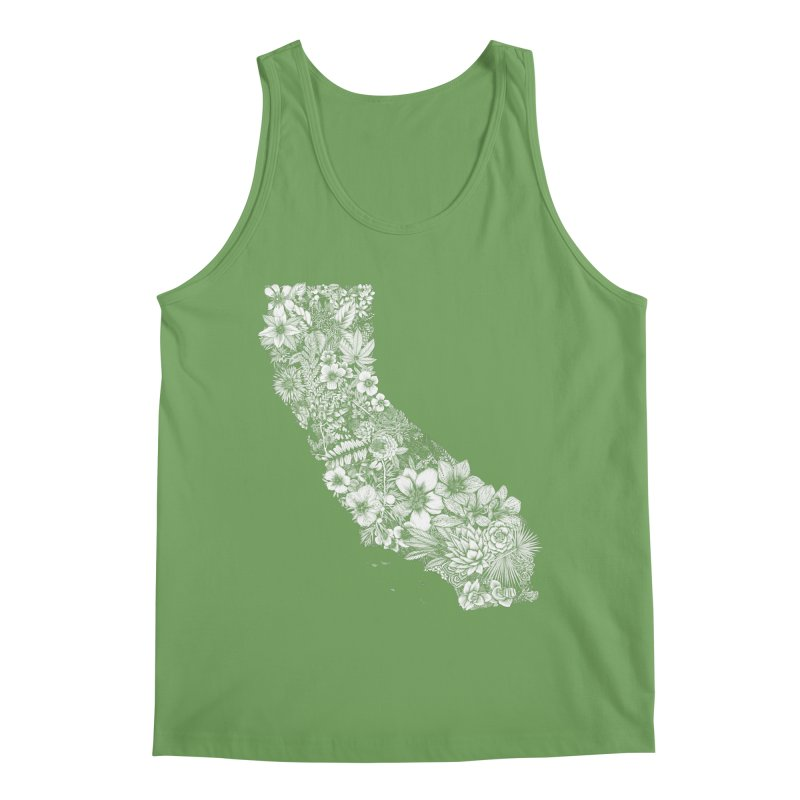 California Native Men's Tank by littlepatterns by Maggie Enterrios