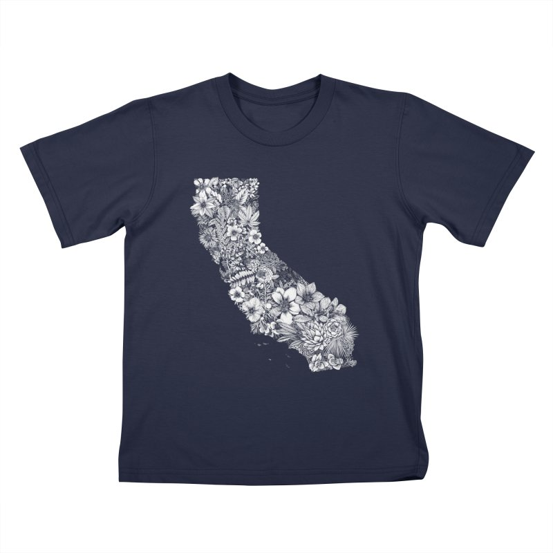 California Native Kids T-Shirt by littlepatterns by Maggie Enterrios